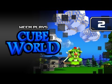 Cube World Alpha Lets Play, Episode 2