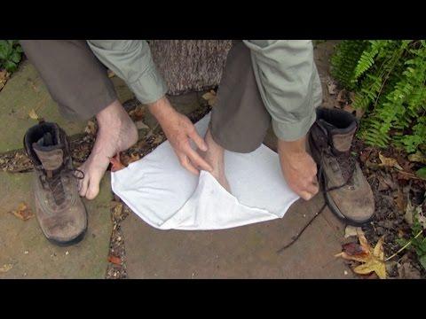 Footwear for Hiking & Camping (sneakers, boots, puttees, gaiters, socks & footwraps)