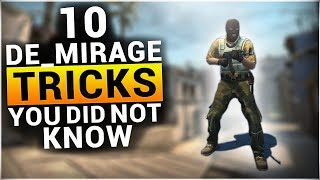 10 TRICKS on DE_MIRAGE You Probably Didn