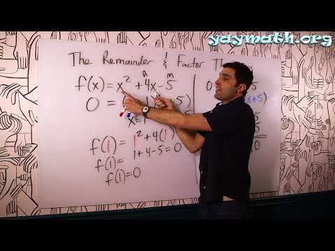 Algebra 2 – The Remainder and Factor Theorems