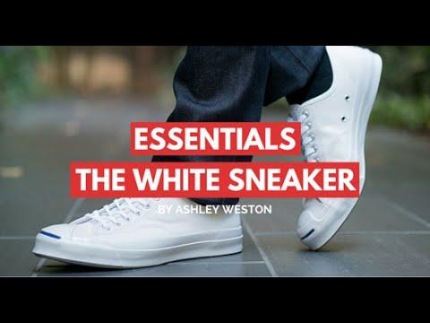 The White Sneaker - Men's Wardrobe Essentials - Tennis Shoes