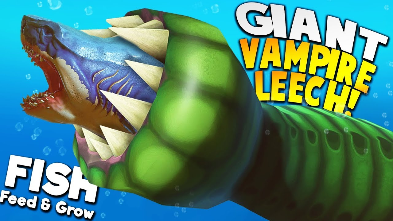 *NEW* OCEAN LEECH BECOMES THE ULTIMATE PREDATOR! | Feed And Grow Fish