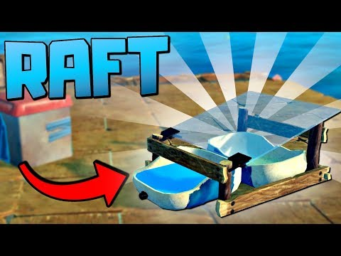 THIS IS THE BEST ITEM IN THE GAME! Conquering the Wild Open Seas - Raft Gameplay