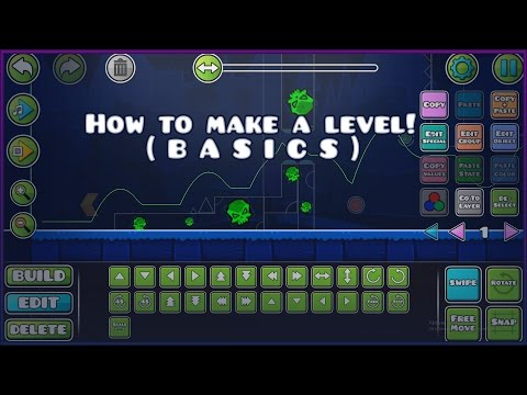 HOW TO MAKE A LEVEL! (easy) // Geometry Dash 2.1 Tutorial