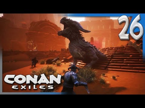 THE KINGSLAYERS OF THE DESERT! W/VINTAGEBEEF | Conan Exiles Multiplayer Gameplay S4E26