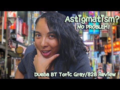 Got astigmatism? No Problem! [Dueba BT Toric Gray/queencontact.com Review]
