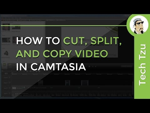 How To Cut Split And Copy Video In Camtasia