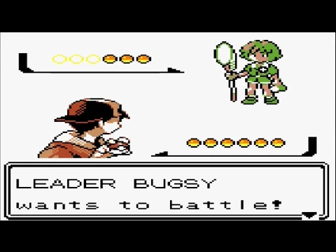 Pokémon Gold and Silver - Gym Leader Bugsy and Get TM49 Fury Cutter (Part 36)