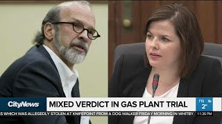Mixed verdict in gas plant trial