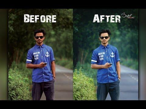 How To Photo Edit Photoshop 7.0 Bangla Tutorial
