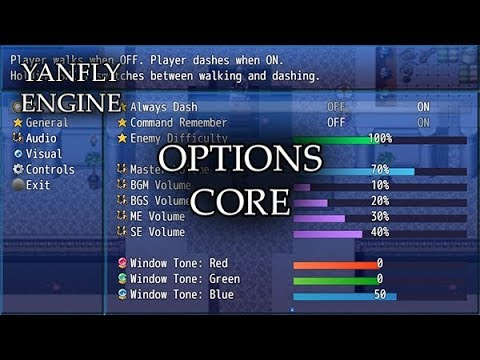 YEP.165 - Options Core - RPG Maker MV
