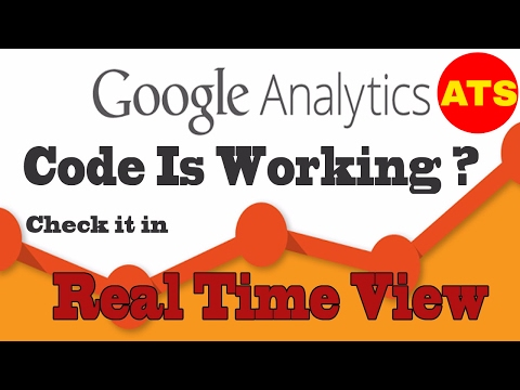 How to Verify Google Analytics Tracking Code is Working on Your Website