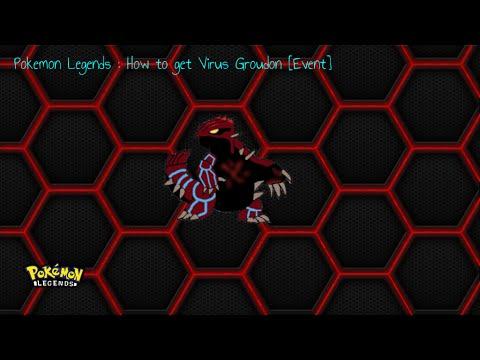 Pokemon Legends: How to get Virus Groudon