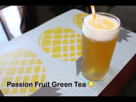 How to Make Passion Fruit Green Tea |熱情果綠茶