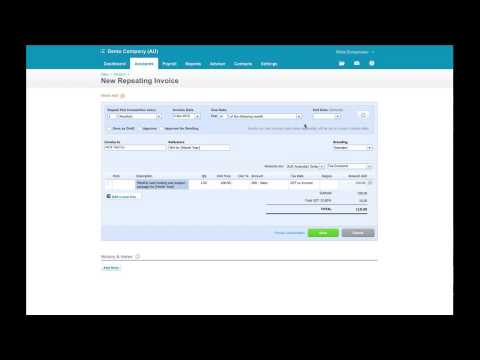 How to Create and Manage Recurring Invoices in Xero