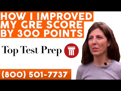 How I Improved My GRE Score by 360 Points - TopTestPrep.com