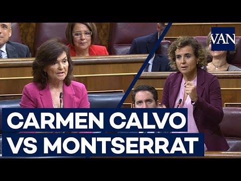 Xxx Mp4 El Rifirafe Entre Dolors Montserrat Y Carmen Calvo En El Congreso 3gp Sex