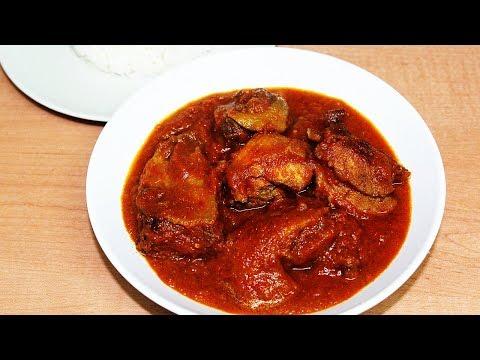 Oiless Tomato Stew   All Nigerian Recipes