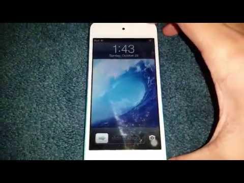 iPod Touch 5th Gen Running iOS 6.1.2