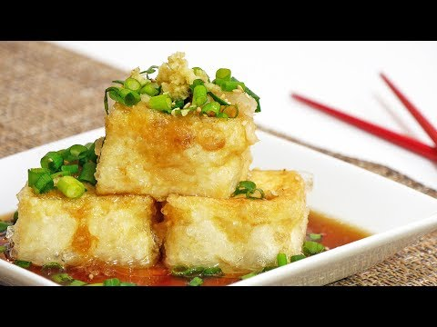 How to Make AGEDASHI TOFU (Deep Fried Tofu Recipe)
