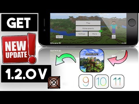 New Get Minecraft Pocket Edition 1.2.0 Latest Free (NO JAILBREAK) iOS 11/10/9 On iPhone/iPod/iPad