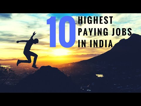 Highest Paying Jobs in India: Top 10 (2018)