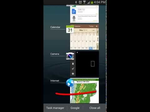 Samsung Galaxy S3/S4/S5/S6 - How To Use Task Manager to Close Apps[Tutorial]