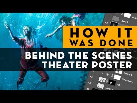 HOW IT WAS DONE | Theater poster Behind the Scenes Photoshop tutorial