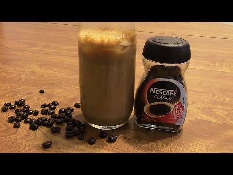 How to make a Greek Frappé Coffee | Frappe Coffee Recipe