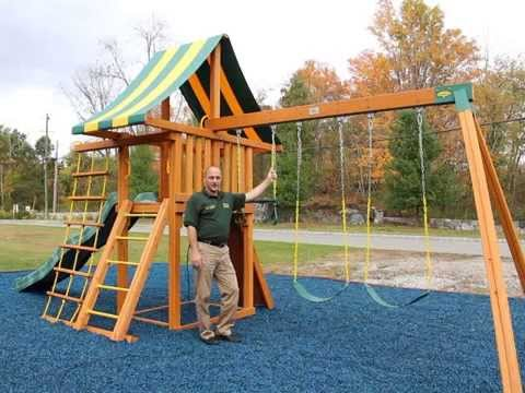 Dreamscape Wood Swing Set (video for mobile devices)