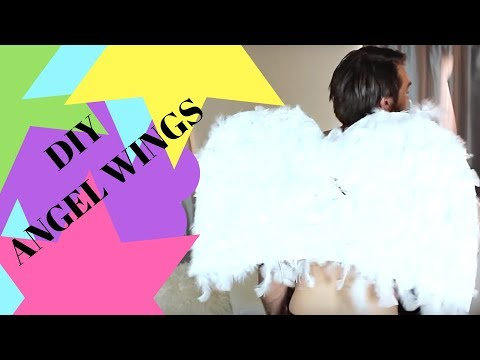 How to Make Angel Wings For A Costume or Cosplay