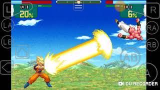 GBA emulator:Dragon Ball Z super sonic warriors Goku's story:Goku and Vegeta VS Buu+ending