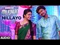Bairavaa Songs Nillayo Full Song Vijay Keerthy Suresh Santhosh Narayanan mp3