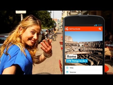 The GetYourGuide App Commercial for German TV - Berlin