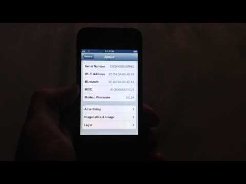 Check esn meid number on iPhone 4 Verizon