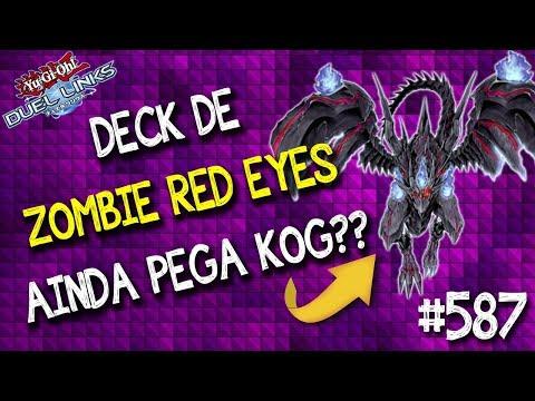 O deck de Zombie Red Eyes ainda pega KOG? Joguei 3 x no lendária 1 para descobrir! Veja o resultado!