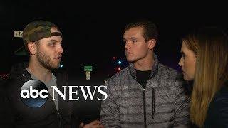 Bar shooting survivors recount horror