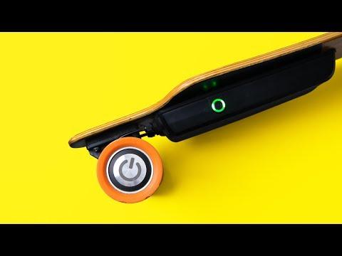Best ELECTRIC Skateboard Of 2017? - Juiced Board Review ⚡️