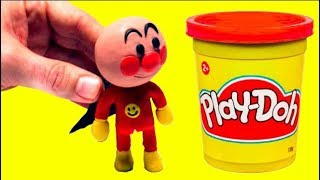 Stop motion Anpanman play doh アンパンマンストップモーション funny video for kids