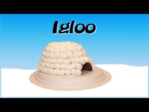 Marshmallow Igloo Craft