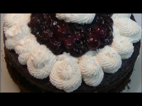 Black Forest Cake Recipe ~ Noreen's Kitchen