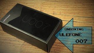 Unboxing 60€ China Phone : Ulefone 007  - Deutsch