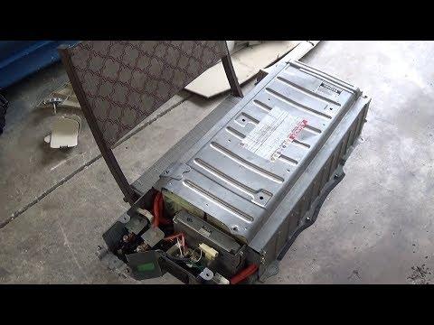 Prius Hybrid Battery Removal