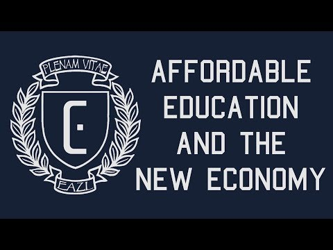 Affordable Higher Education and the New Economy
