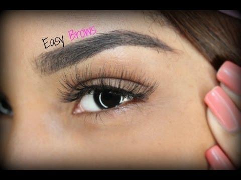 MY eyebrow Tutorial ( Anastasia Dipbrow + Stencil)