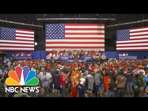 President Trump hosts Make America Great Again Rally