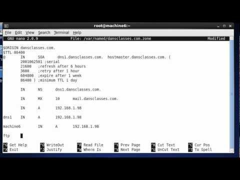 Install & Configure BIND DNS Server in CentOS - Part 3