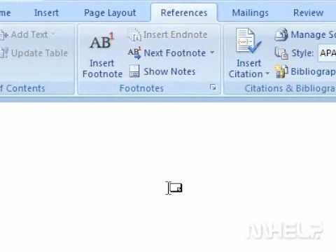 How to convert footnotes to endnotes in a document