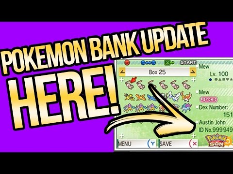 Pokemon Bank Update is HERE and Mew's Z-move? Pokemon Sun and Moon | Austin John Plays
