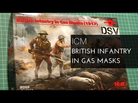 ICM 1/35 British Infantry in Gas Masks (35703) Review